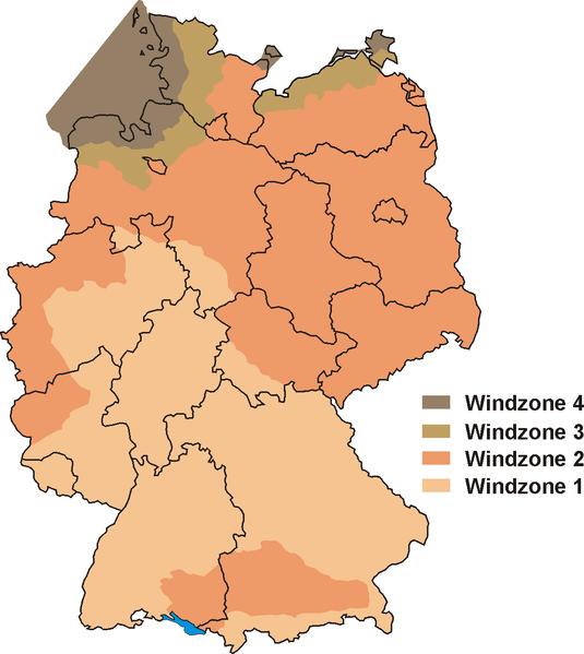 Windzonenkarte (Störfix/Wikimedia)