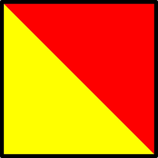 Flaggen- und Winkeralphabet